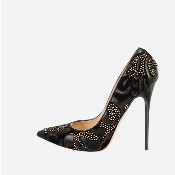 7e3e35eb6715 Jimmy Choo Shoes - Jimmy Choo Abel studded pumps